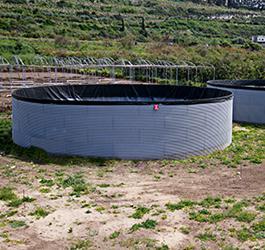 Geomembrane Lakes and Tanks